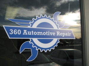 360 Automotive Repair Logo